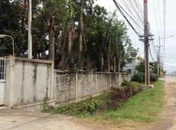 BH1131 ให้เช่าที่ดิน มีสำนักงาน 1ห้อง ห้องเก็บของ แปดริ้ว ฉะเชิงเทรา