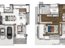 ขายบ้านเดี่ยวโครงการ เดอะเจนทริ เอกมัย–ลาดพร้าว พื้นที่ดิน 62.9 ตร.ว 3ห้องนอน 3ห้องน้ำ