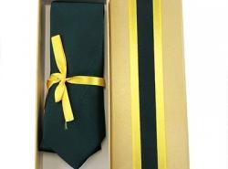 รับผลิตกล่องเนคไท กล่องเนคไททรงแบน กล่องเนคไททรงเต๋า ฝาติดและฝาแยก