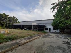 ขายโรงงานโกดังพร้อมออฟฟิศ 3 ไร่ 1 งาน ลำลูกกา ปทุมธานี ที่ดินผังสีเขียว ใกล้ตลาดชัชวาล คลอง7