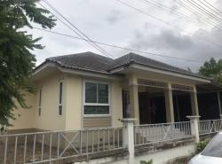 ขายบ้านเดี่ยว หมู่บ้าน รนารมย์ พื้นที่ 127 ตรม 3นอน 2น้ำ ใกล้ตลาดสดเทศบาลปลวกแดง