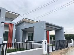 ขายบ้านใหม่มือ1 ม.ซานมาริโน โซนสาย 13 ซอย 2 นิคมพัฒนา ระยอง